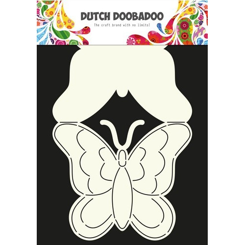 Dutch Doobadoo Dutch Card Art Vlinder A4 470.713.607 (08-16)