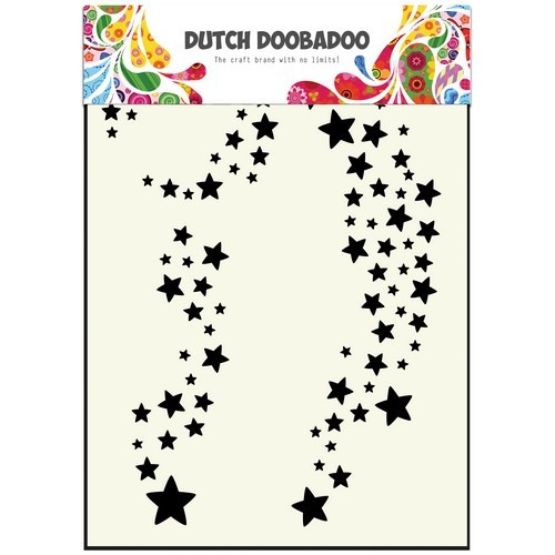 Dutch Doobadoo Dutch Mask Art sterren A5 470.715.400 (08-16)
