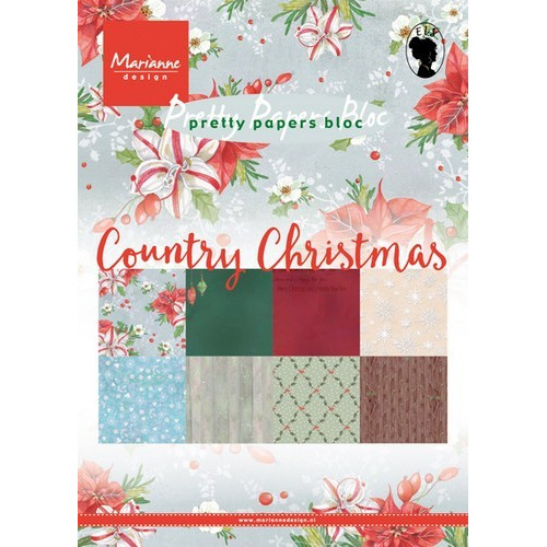 Marianne D Paper pad Country Christmas PK9139 (09-16)