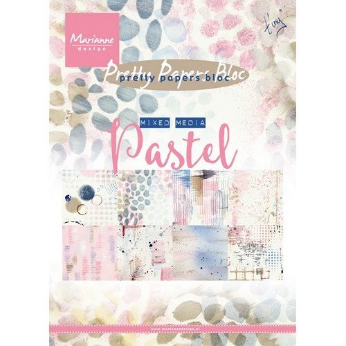 Marianne D Paper pad Tiny`s Mixed Media - Pastels PK9141 (09-16)
