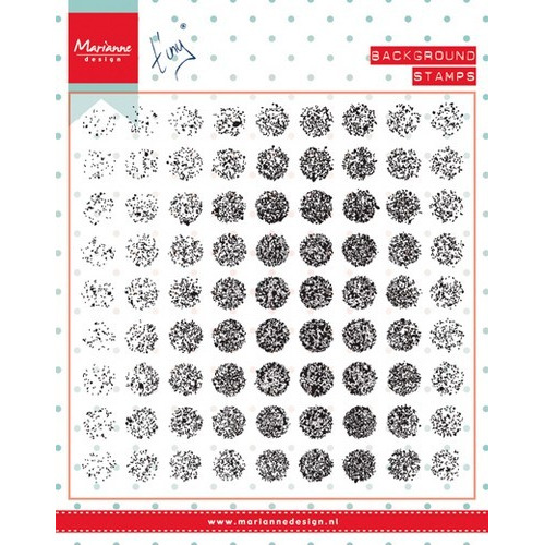Marianne D Stempel Tiny`s background Distressed dots CS0977 (09-16)