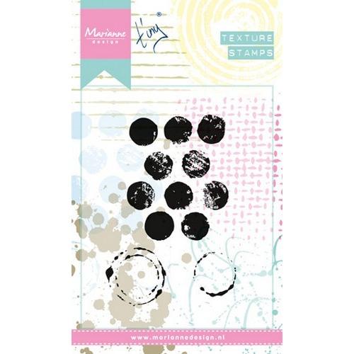 Marianne D Stempel Texture Dots MM1608 (09-16)