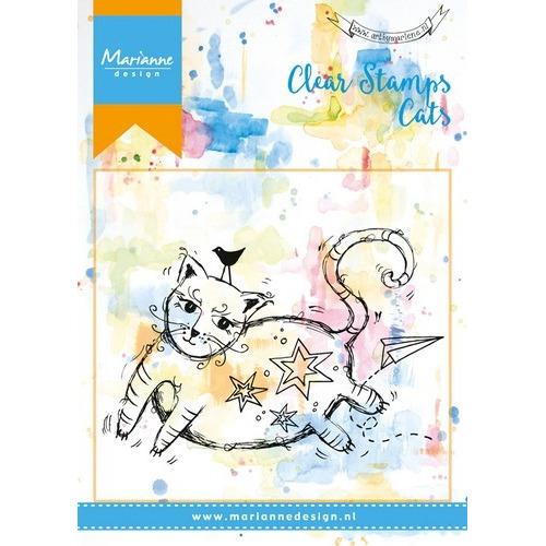 Marianne D Stempel Fat Cat MM1611 (09-16)