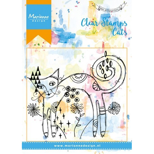 Marianne D Stempel Skinny Cat MM1612 (09-16)