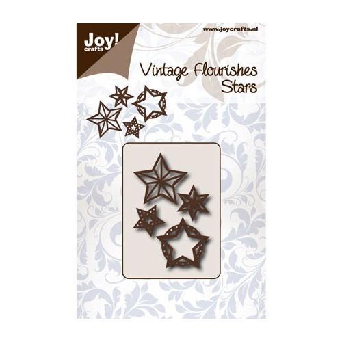 Cutting Vintage Flourishes - Flourishes Sterren
