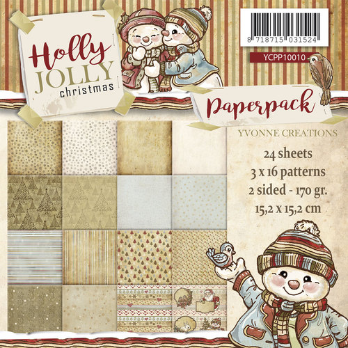 Paperpack - Yvonne Creations - Holly Jolly
