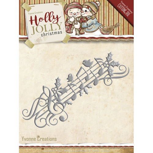 Die - Yvonne Creations - Holly Jolly - Music Border