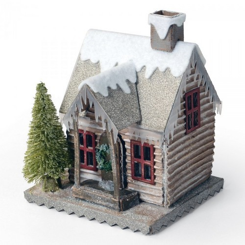 Sizzix Bigz Die - Village Winter 660988 Tim Holtz (09-16)