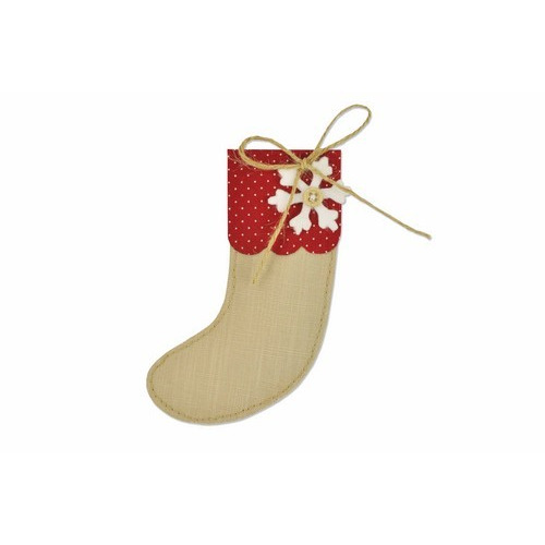 Sizzix Bigz Die - Christmas stocking 661297 Sophie Guilar (08-16)