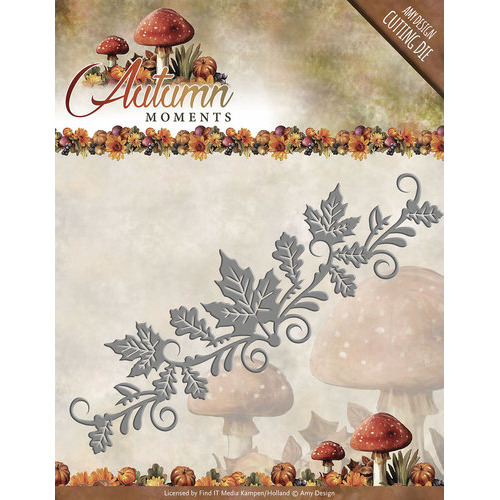 Die - Amy Design - Autumn Moments - Leaves Border