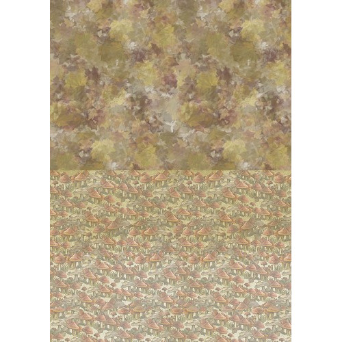 Backgroundsheets - Amy Design - Autumn Moments - Mushrooms
