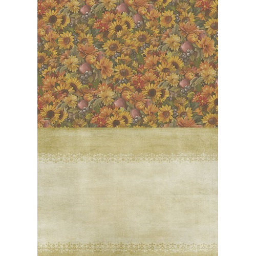 Backgroundsheets - Amy Design - Autumn Moments - Sunflowers
