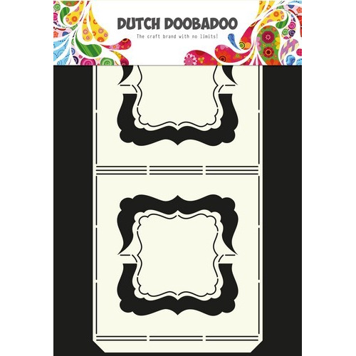 Dutch Doobadoo Dutch Card Art stencil harmonica A4 470.713.313 (09-16)