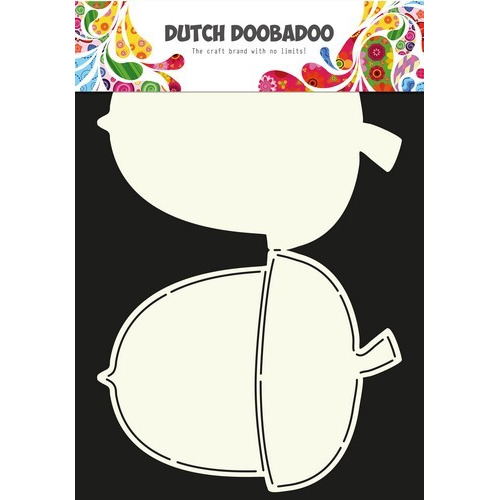 Dutch Doobadoo Dutch Card Art stencil eikel A4 470.713.590 (09-16)