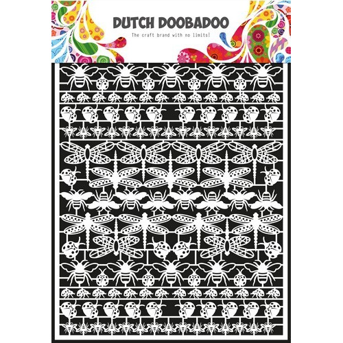 Dutch Doobadoo Dutch Paper Art insecten - A5 472.948.042 (09-16)
