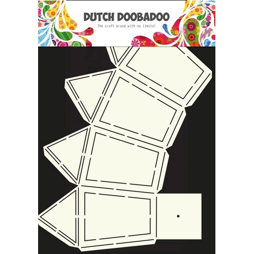 Dutch Doobadoo Dutch Box Art stencil Lantaarn A4 470.713.033 (09-16)