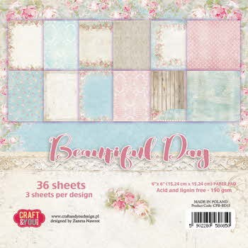 CPB-BD15 BEAUTIFUL DAY Small Paper Pad
