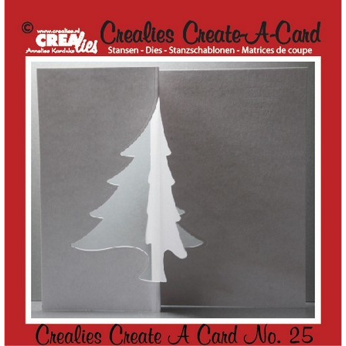Crealies Create A Card no. 25 stans voor kaart 14,5 x 11,5 cm / CCAC25 (09-16)