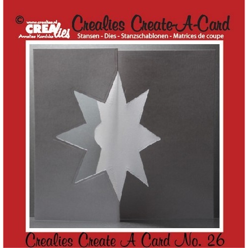 Crealies Create A Card no. 26 stans voor kaart 14,5 x 11,5 cm / CCAC26 (09-16)