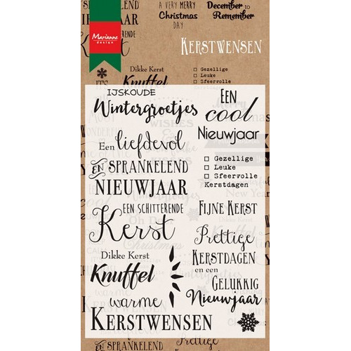 Marianne D Stempel Winter En Nieuwjaarswensen Nl Cs0979 10 16