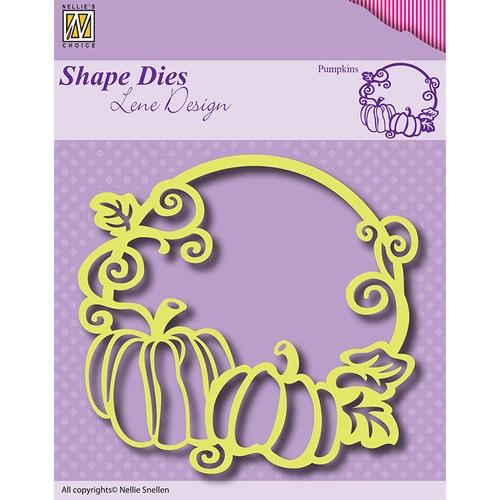 Shape Dies - Lene Design - Frame Pumpkin