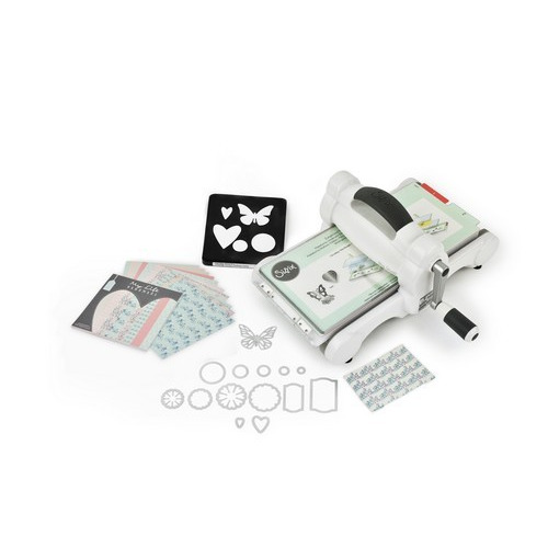 Sizzix Big Shot Starter Kit White & Grey ft. MLH 661545 (09-16)