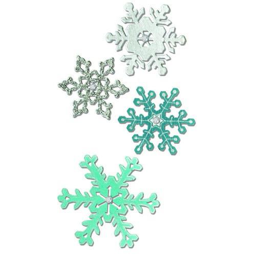 Sizzix Thinlits Die Set - Snowflake #2 4PK 661541 (09-16)