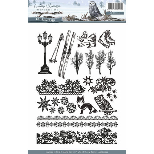 Clearstamp - Amy Design - Wintertide