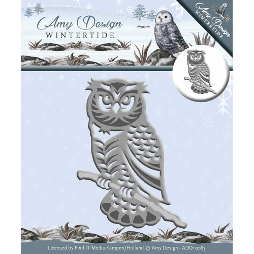 Die - Amy Design - Wintertide - Owl