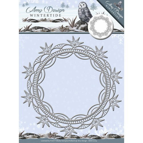 Die - Amy Design - Wintertide - Ice Crystal Frame