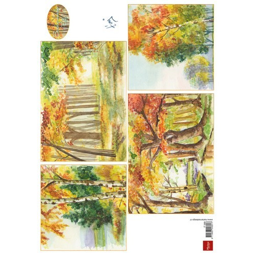 Marianne D 3D Knipvellen Tiny`s background fall IT589 (09-16)