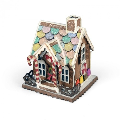 Sizzix Bigz Die - Village Gingerbread 661608 Tim Holtz (09-16)