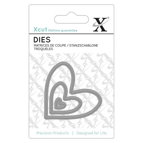 Mini Die (3pcs) - Nesting Hearts