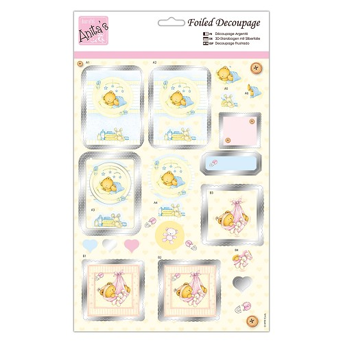 Foiled Decoupage - New Arrival