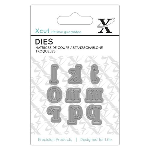 Mini Die (9pcs) - Serif Alpha 2