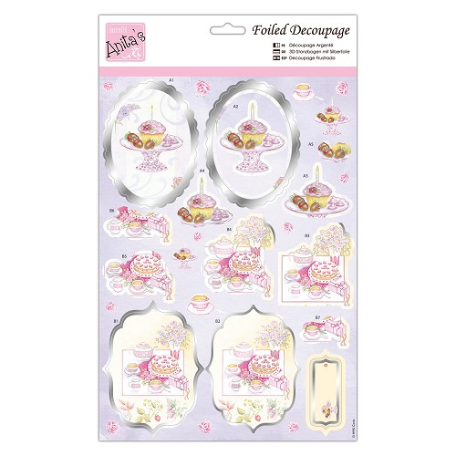 Foiled Decoupage - Ladies Luncheon