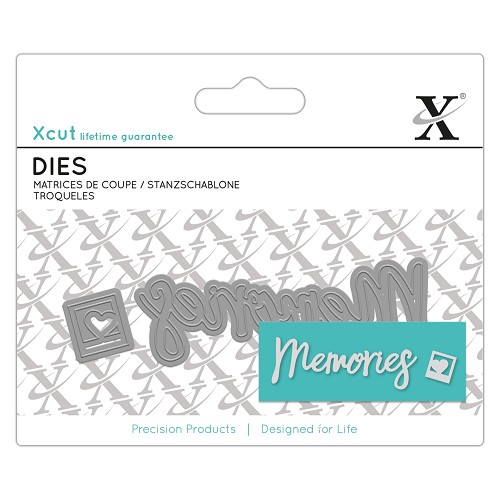 Mini Sentiment Die (2pcs) - Memories
