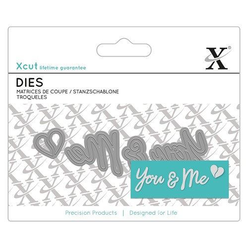 Mini Sentiment Die (4pcs) - You & Me
