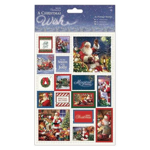 A5 Postage Stamps (32pcs) - A Christmas Wish