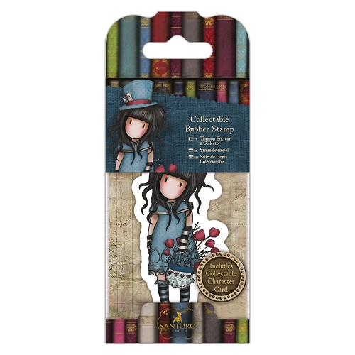 Collectable Rubber Stamp - Santoro - No. 29 The Hatter
