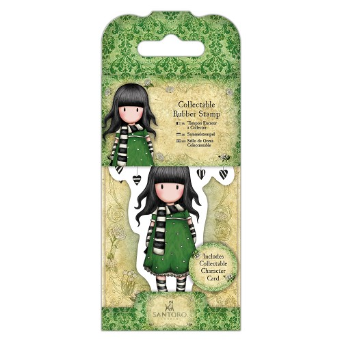 Collectable Rubber Stamp - Santoro - No. 26 The Scarf