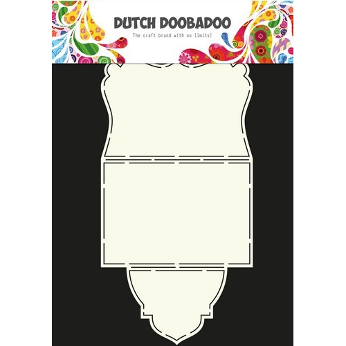 Dutch Doobadoo Dutch Card Art Stencil vouwkaart  A4 470.713.314 (10-16)