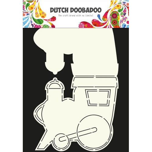 Dutch Doobadoo Dutch Card Art Stencil locomotief  A4 470.713.611 (10-16)