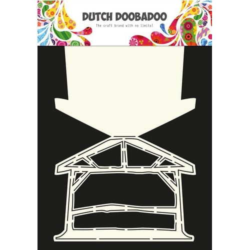Dutch Doobadoo Dutch Card Art Stencil stal (crib)  A4 470.713.612 (10-16)