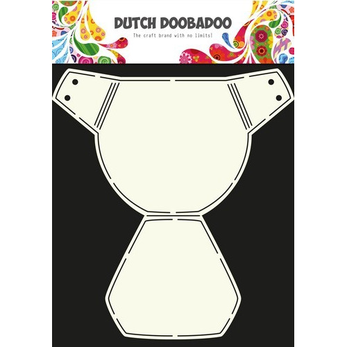 Dutch Doobadoo Dutch Card Art Stencil luier  A4 470.713.615 (10-16)