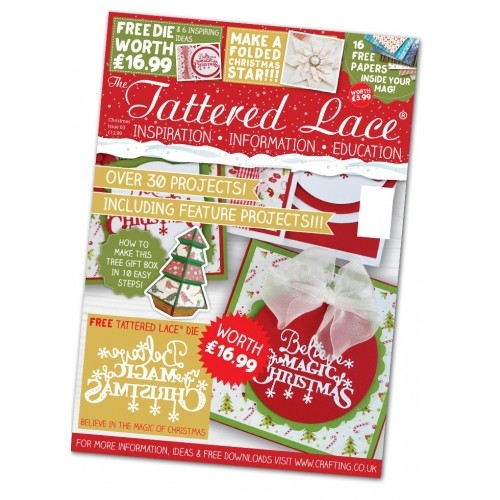 The tattered lace - christmas magazine nr 3