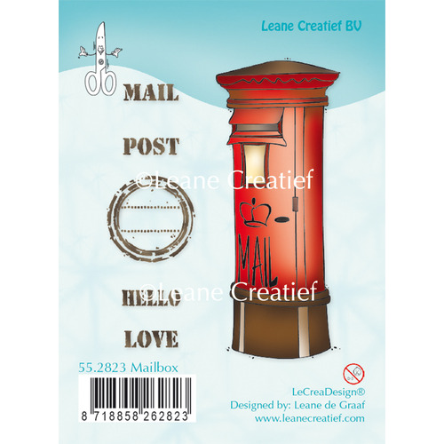 Clear stamp Mailbox