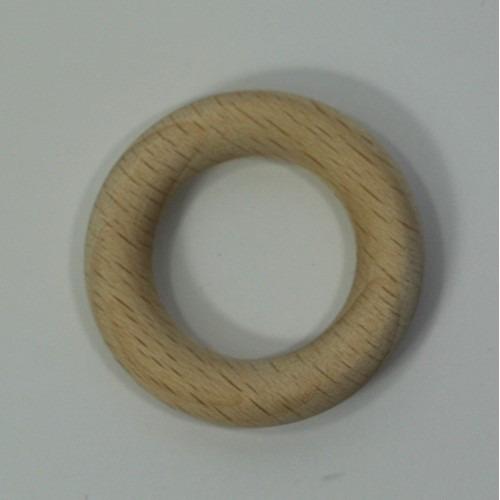 Houten ring beuken blank 35x7mm  50 stuks