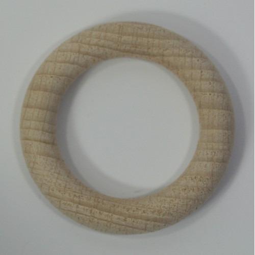 Houten ring beuken blank 56x9mm  50 stuks