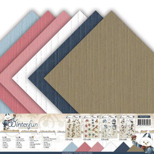Linnenpakket - Scrap - Precious Marieke - Winterfun